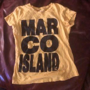 vtg XL Marco Island, Florida t-shirt